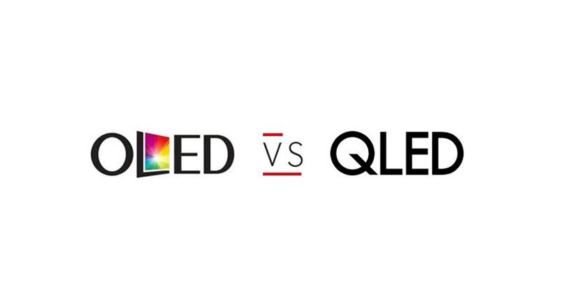 QLED of OLED